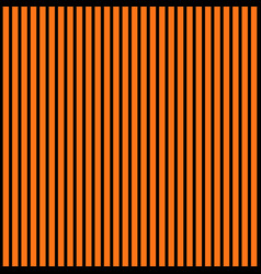 Abstract black and orange color striped pattern vector