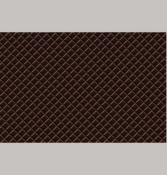black chocolate seamless pattern sweet texture vector image