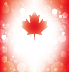 Canada background abstract canadian flag vector