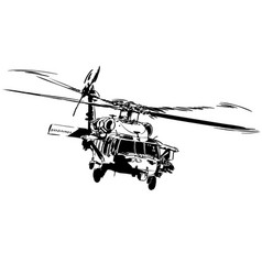 Helicopter eps vector