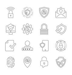 Protect data and confidentiality safety vector