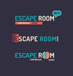 real-life room escape vector image
