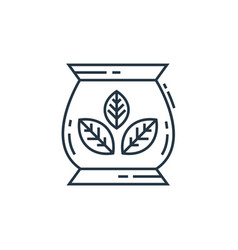 Terrarium icon isolated on white background vector