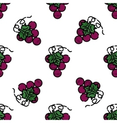 Wine flat pattern vector image vector image