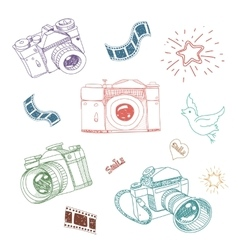 camera and photography vector image vector image