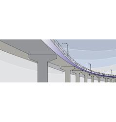 pont bridge vector image