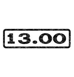 1300 watermark stamp vector image