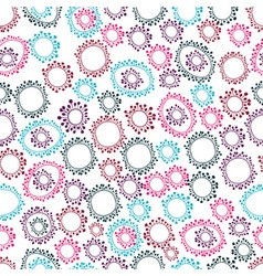 abstract doodle pattern vector image