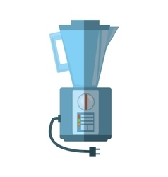 blender kitchen appliance shadow vector image