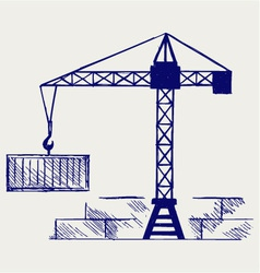 Crane working vector
