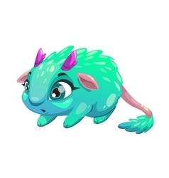 Funny cartoon fantasy animal vector