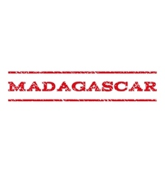 Madagascar Watermark Stamp vector image