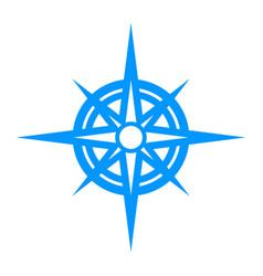 Navigation travel compass vector
