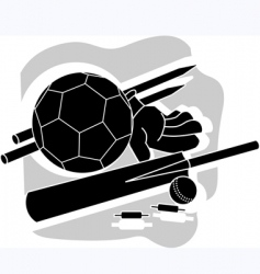 play instruments vector image