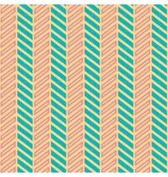 Vintage turquiose seamless pattern vector