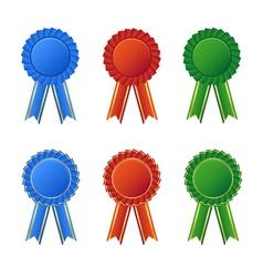 Awards seal vector image