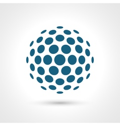 Abstract circular shape Round elements vector image