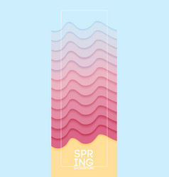 beautiful pastel banner for any decoration vector image