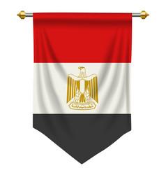Egypt pennant vector