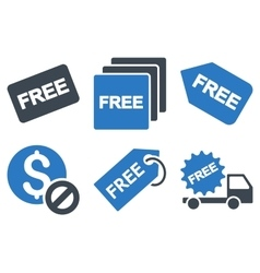 Free Tag Flat Icons vector
