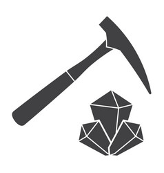 Geology icon vector