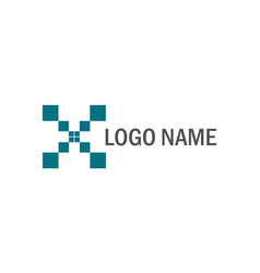 Square technology logo vector