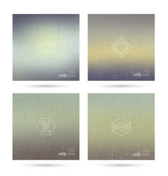 Trendy abstract background vector