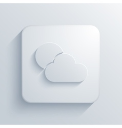 modern weather light icon vector image vector image