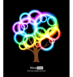 nice tree vector image vector image