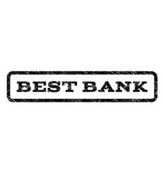 best bank watermark stamp vector image