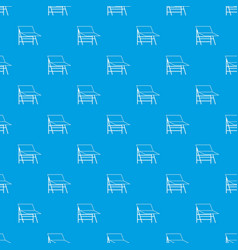 Blank portable screen pattern seamless blue vector