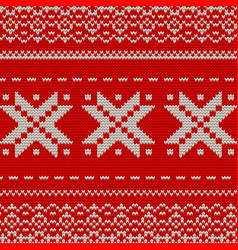 Christmas knitted background eps 10 vector