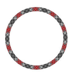 circle borders and frames round border pattern vector image