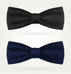 Dark tie on a white background vector