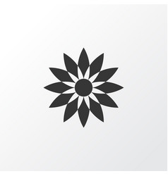 flower icon symbol premium quality isolated vector image