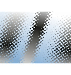 halftone dots background vector image