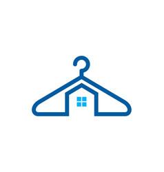 House laundry logo icon design vector