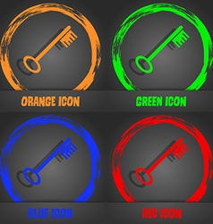 Key icon sign Fashionable modern style In the vector image