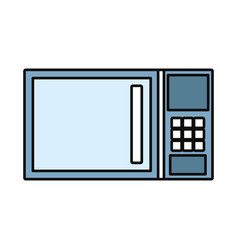 microwave oven icon image vector image