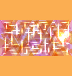 Pattern of metal in pastel peach colors vector