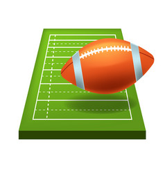 Rugor american football game isolated icon vector