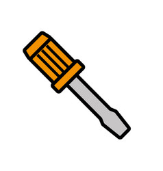 tool repair service isolated icon vector image vector image