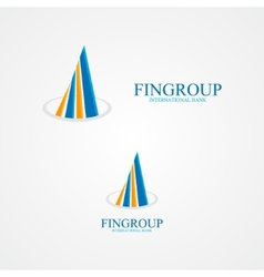 concept for bank or real estate company vector image