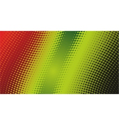halftone dots background vector image vector image
