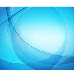 Abstract blue shiny template background vector image