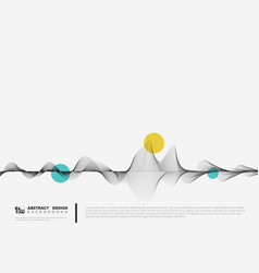 abstract line decoration design minimal vector image