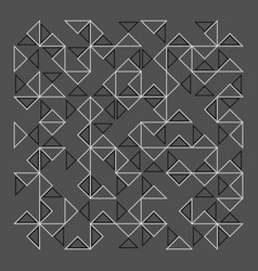 Abstract lines pattern vector
