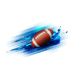 American football competition tournament template vector