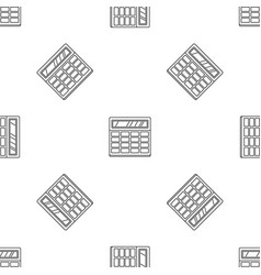 calculator pattern seamless vector image