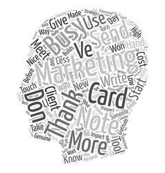How Gratitude Works text background wordcloud vector image